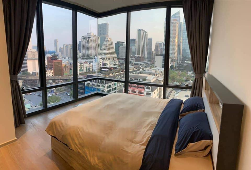 เช่าคอนโดสีลม ศาลาแดง บางรัก : ให้เช่า Ashton Silom 2 นอน 86 ตรม. ชั้น 11 วิวสวยมาก Fully Furnished พร้อมอยู่