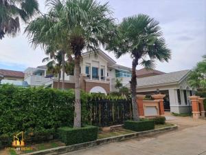 For SaleHouseRama5, Ratchapruek, Bangkruai : Luxury house for sale • Phruek Phirom Village. Ratchaphruek-Rattanathibet • (Q-House) on Ratchaphruek Road, behind the corner, area 229 sq m.