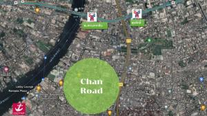 For SaleLandSathorn, Narathiwat : Land for sale on Chan Road, price 200,000 baht/square wah.