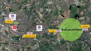 For SaleLandRattanathibet, Sanambinna : Land for sale, beautiful plot, cheap price, next to Rattanathibet Road !!