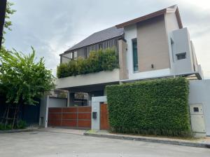 For SaleHouseYothinpattana,CDC : Sale: House in Private Nirvana North, corner plot, 3BR/4B, front area, Ekamai-Ramintra