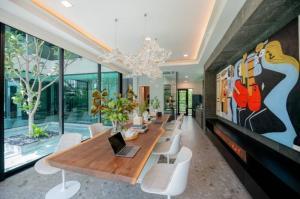 เช่าบ้านพระราม 9 เพชรบุรีตัดใหม่ : Rental / Selling : Single House With Full Furnitures in Rama 9 - Srinakarin