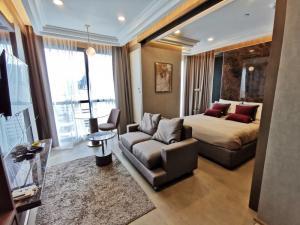 For SaleCondoSiam Paragon ,Chulalongkorn,Samyan : Beautifully decorated like a sample room, the cheapest in the Ashton Chula-Silom Mrt Samyan building