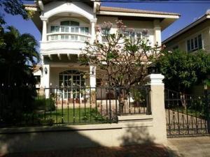 For RentHouseRamkhamhaeng Nida, Seri Thai : House for rent and sale, 2 floors, 75 sq m., Patra Village, Ramkhamhaeng 76, fully furnished, near MRT Orange Line.