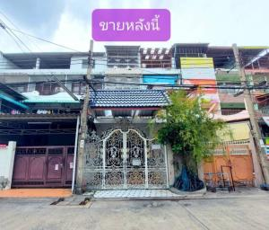 For SaleTownhouseRama3 (Riverside),Satupadit : Townhouse for sale in Soi Sathupradit 26.