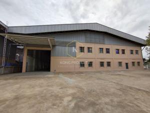 For RentFactorySamrong, Samut Prakan : factory for rent Purple area, area 3,166 sq.m., Phraeksa Road, Mueang Samut Prakan District