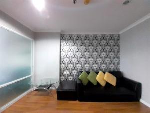 For RentCondoRama9, RCA, Petchaburi : For rent high floor 1 bedroom Lumpini Place Rama 9-Ratchada.