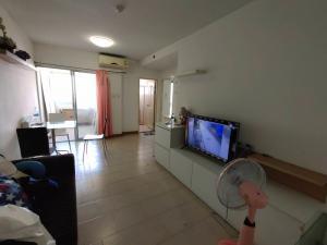 For SaleCondoRattanathibet, Sanambinna : Condo for sale City Home Rattanathibet fully furnished with tenant.