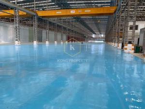 เช่าโรงงานราษฎร์บูรณะ สุขสวัสดิ์ : ให้เช่าโรงงาน/คลังสินค้า 7,000 ตร.ม. *แบ่งเช่า* พร้อมเครน 10 ตัน อ.พระประแดง จ.สมุทรปราการ Factory/warehouse for rent 7,000 sq.m. *share rent* with crane 10 tons, Phra Pradaeng District, Samut Prakan Province