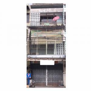For SaleShophouseRama 8, Samsen, Ratchawat : Sell Commercial Building 3-Storey on maid road, near Rajinibon School