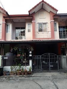 For SaleTownhouseSamrong, Samut Prakan : Townhouse for sale, Nakorn Thong Village Grand Ville project. (Owner sells by himself)