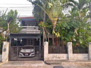 For RentHouseRattanathibet, Sanambinna : RHT531 House for rent in Bali style, Perfect Place Sai Ma Village, Rattanathibet Road. Near Sai Ma BTS Station 1 km.