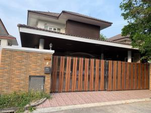 For SaleHouseRangsit, Patumtani : Single house 65 sq m, Sinthani Village