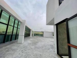 เช่าตึกแถว อาคารพาณิชย์เลียบทางด่วนรามอินทรา : ให้เช่าอาคารขนาดใหญ่ 7 ชั้น มีลิฟต์โดยสาร ติดถนนเลียบทางด่วนรามอินทรา ใกล้บิ๊กซีลาดพร้าว (HH2-HT756)