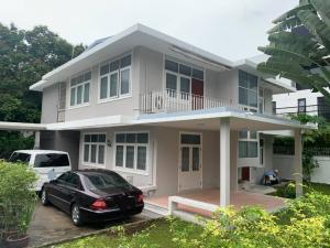 For RentHouseOnnut, Udomsuk : RHT528 House for rent, area 53 square meters, 4 bedrooms, Soi Padi Madi, Sukhumvit 53, near Thonglor.
