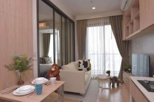 For RentCondoSapankwai,Jatujak : For rent M Chatuchak, fully furnished, beautiful view, near MRT Kamphaeng Phet.