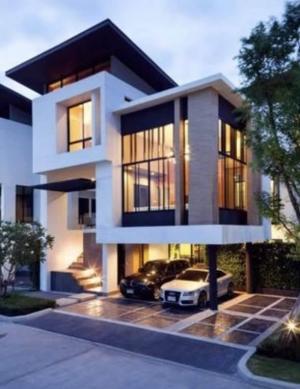 For SaleHouseKaset Nawamin,Ladplakao : Single detached house for sale, Nirvana Beyond Kaset-Nawamin, new house, ready to move in.