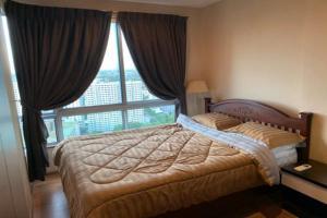 For RentCondoOnnut, Udomsuk : Urgent rent, loose room, high floor, ready to decorate very beautiful, THE BASE Sukhumvit 77