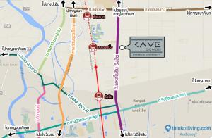 For RentCondoRangsit, Patumtani : Condo for rent KAVE in front of Bangkok University