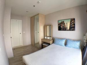 For RentCondoRama9, Petchburi, RCA : Plum Condo for rent, Ramkhamhaeng Station, beautiful room, ready to move in