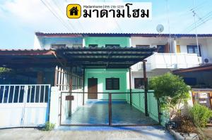 For SaleTownhouseAyutthaya : House for sale in Ayutthaya housing village Mueang Ayutthaya District Adjacent to Rojana Road, the entrance to the city