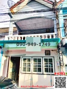 For RentHouseBang kae, Phetkasem : Rent/sell townhouse 2 floors, Soi Permsap, next to BTS Bang Wa