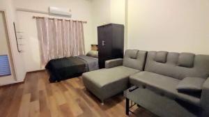 For RentCondoLadkrabang, Suwannaphum Airport : Condo for rent at Lumpini Romklao, beautiful room, ready to move in, super cheap rent