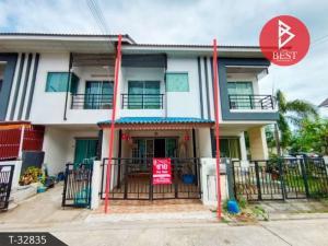For SaleTownhouseMahachai Samut Sakhon : 2 storey townhouse for sale, Baan D Ekachai, Samut Sakhon.