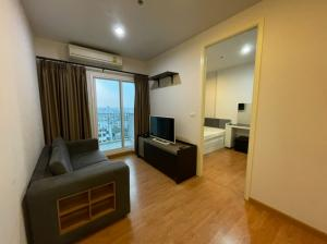 For RentCondoBang Sue, Wong Sawang : For rent, The Parkland Wong Sawang, 2 bedrooms, 44 sqm., 20th floor, pool view, fully furnished, ready to move in, next to Wong Sawang MRT