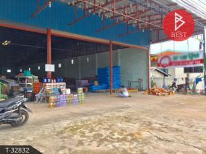 For SaleWarehouseBueng Kan : Warehouse for sale on the main road, 1 ngan, 70.0 square wah, Bueng Kan.