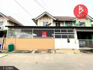 For SaleHouseSamrong, Samut Prakan : Twin house for sale, Pruksa 28/1, Bang Pu-Praksa Industrial Estate, Samut Prakan.