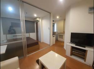 For RentCondoBangna, Lasalle, Bearing : For rent, Lumpini Condo, Mega City, Bangna, 23 sqm., 1 bedroom, 7th floor, Building D * Beautiful room, ready to move in.