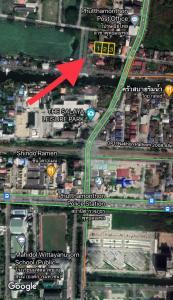 For SaleLandNakhon Pathom, Phutthamonthon, Salaya : Vacant land, very good location, convenient for residence / condo near Mahidol Department Store