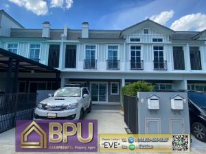 For RentTownhouseBangna, Lasalle, Bearing : ** 3 Bedrooms Townhome for Rent ** Indy Bangna-Ramkhamhaeng2 Near Mega Bangna