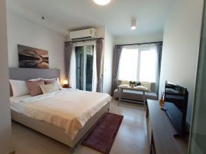For RentCondoRatchadapisek, Huaikwang, Suttisan : Condo for rent Chapter One Eco Ratchada-Huay Kwang *Ready to move in* near MRT Huai Khwang