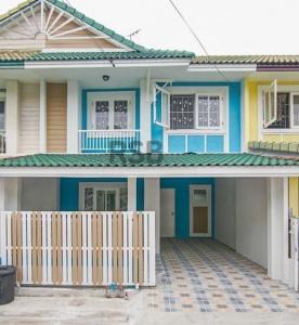 For SaleTownhouseBang Sue, Wong Sawang : Townhouse for sale, Pruksa Village 18/1, Bang Yai, Nonthaburi, newly decorated, beautiful.
