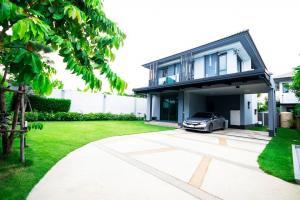 ขายบ้านสำโรง สมุทรปราการ : BS230 บ้านเดี่ยว2ชั้น 4ห้องนอน 3ห้องน้ำ   บุราสิริ วงแหวน-อ่ออนุช (หลังมุม)   Burasiri Wongwan - Onnut  Build in สวย เรียบ หรู ดูดีมาก สนามกว้าง ปลูกอะไรก็ได้
