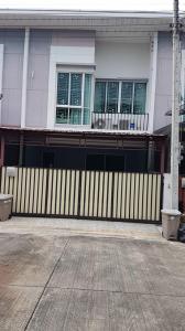 For RentTownhouseRamkhamhaeng,Min Buri, Romklao : ้townhouse for rent at  Ramintra 117  near fashion island minburi