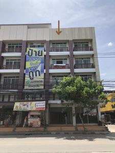 For RentShophouseRamkhamhaeng,Min Buri, Romklao : RPJ187 Commercial building for rent. 4 storeys in Soi Mistine near the train station Rat Phatthana 500 meters