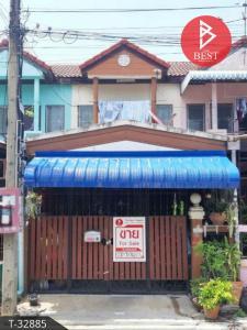 For SaleTownhouseSamrong, Samut Prakan : 2 storey townhouse for sale, Sub Din Thong Village, Thepharak, Samut Prakan.