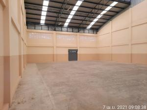 For RentWarehouseBangbuathong, Sainoi : Warehouse and office for rent, size 450 sq.m., Bang Bua Thong, Nonthaburi.