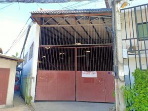 For RentWarehouseBangbuathong, Sainoi : Warehouse with office for rent, size 300 sq.m., Bang Kruai-Sainoi Rd., Nonthaburi
