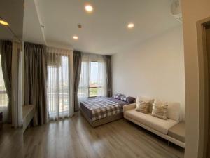 For RentCondoKasetsart, Ratchayothin : Condo for rent, Miti Chiva Kaset Station, fully furnished, complete electrical appliances
