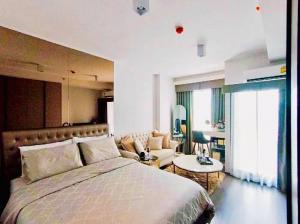 For RentCondoOnnut, Udomsuk : 🔥🔥Hot Deal!🔥🔥 Rent IDEO Sukhumvit 93, size 28 sqm., 22nd floor, Studio, BTS Bang Chak[Code:A264]
