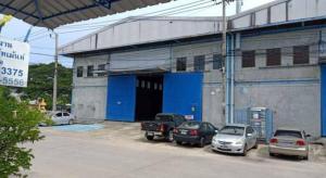 For RentWarehouseSamrong, Samut Prakan : Warehouse with office for rent, size 800-1,600 sq.m., Samut Prakan.