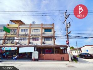 For SaleShophousePattaya, Bangsaen, Chonburi : Commercial building for sale/rent, Baan Suan Soi 12, Baan Suan - Setthakit 30 Rd., Chonburi.