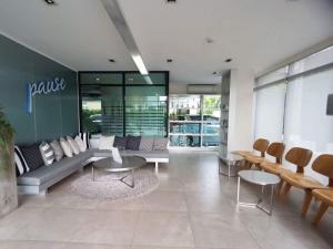 For RentCondoBangna, Lasalle, Bearing : 🔥🔥Hot Deal!🔥🔥 For rent, Pause condo Sukhumvit 107, size 47.5 sq m., corner room, 8th floor, 2 bedrooms, 2 bathrooms, BTS Bearing [Code:A270]