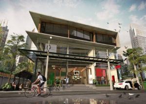 For RentHome OfficeSukhumvit, Asoke, Thonglor : Rental : Commercials Building in Soi Sukhumvit 49 close Samijtivej Sukhumvit Hospital , Thonglor BTS , 180 sqm ,  ( Shop Width  5.5 m ) 🔥🔥 Rental : 150,000 THB / Month🔥🔥