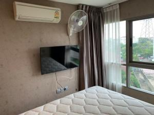 For RentCondoChengwatana, Muangthong : R10275 **For Rent** Condo B Campus, size 32.6, 6th floor, complete electrical appliances, ready to move in.