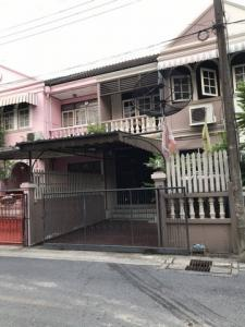 For RentTownhouseOnnut, Udomsuk : Townhouse for rent, 2 floors, Sukhumvit 93, Soi Phueng Mee 11, size 23 sq. wa, 3 bedrooms, 2 bathrooms, fully furnished, near bts Bang Chak